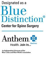 Anthem Blue Distinction Center for Spine Surgery