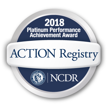 NCDR Platinum Performance Award