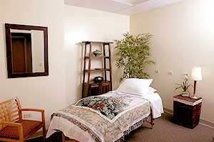 Oncology Massage Room